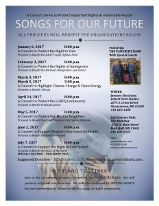 Songs for Our Future - Concert Flyer - Revised 02-15-17